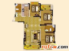 2013-8-15 信合世纪城C户型图