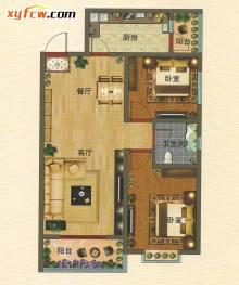 经典设计,布局考究,巧妙实用,精心营造空间阔度 卫浴间宽敞舒适,生活从容有序,便于居家操作 光照和通风条件好,居住舒适度高 卧室大飘窗,居家尽享尊贵人生