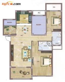 全明户型设计,户型方正、动静干湿分区,南北通透。 客厅连接4.2米宽的大阳台和风景在室内翩然起舞,尽情享受大自然的和谐。 北面赠送一间卧室,空中花园赠送超过50%,约15个平方的赠送是对您意外的感恩回馈, 餐厅、厨房、客厅、厅厅相连享受愉悦就餐环境。