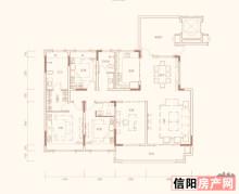 四室两厅三卫N户型