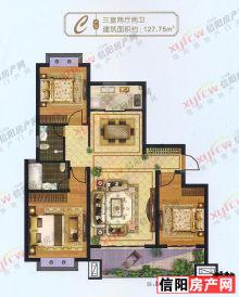 金桂园-127三室两厅