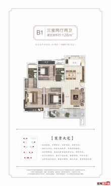 淮滨建业桂园B1户型