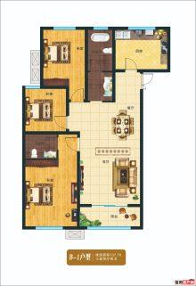 B1户型137平三室两厅两卫