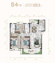 B4三室两厅两卫