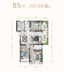 B5三室两厅两卫