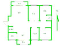 纯正板楼 一梯两户 南北通透毛坯大三房143m²双阳台 稀缺