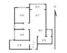 (羊山新区)金盾小区3室2厅1卫84万120m²精装修出售
