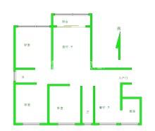(羊山新区)九悦鸿城3室2厅1卫96万117m²毛坯房出售